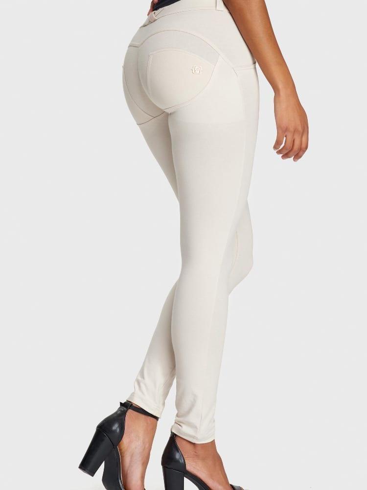 WR.UP® Fashion-Mid Rise-Full Length – Light Beige