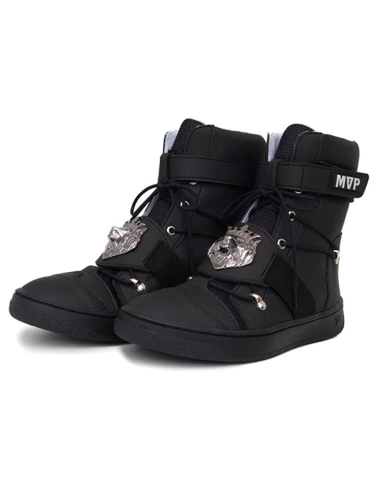 MVP Fitness Lion Fit Sneakers - Black Onix