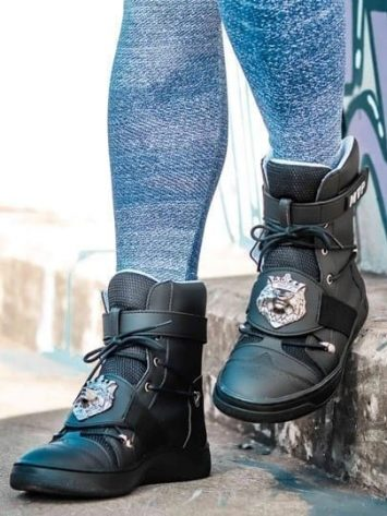 MVP Fitness Lion Fit Sneakers – Black Onix