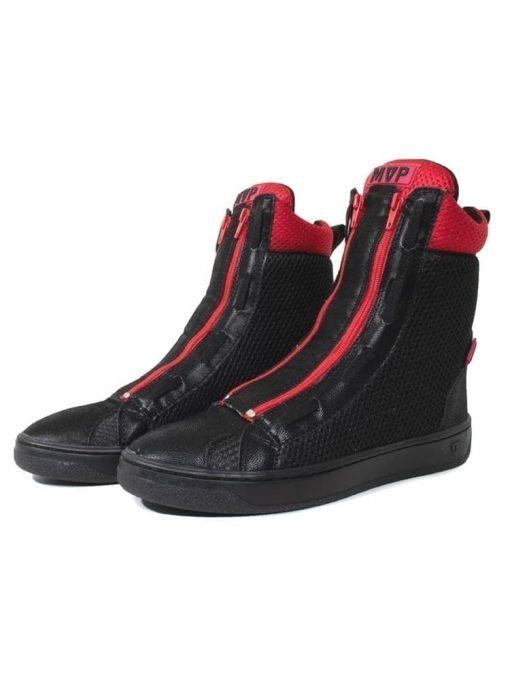MVP Fitness Boot Flex Sneakers - Black Red