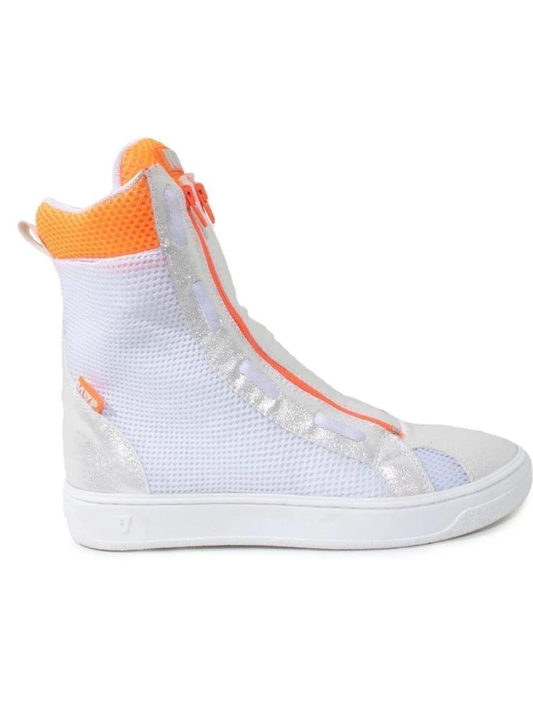 MVP Fitness Boot Flex Sneakers - Orange White