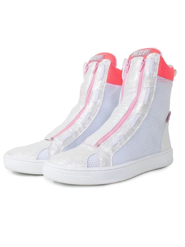 MVP Boot Flex Sneakers - Pink White