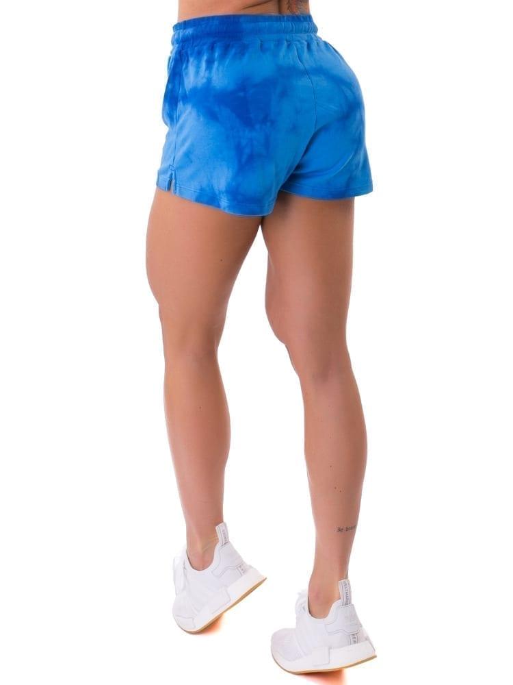 Let's Gym Fitness Shorts Tie Dye Fresh - Azul
