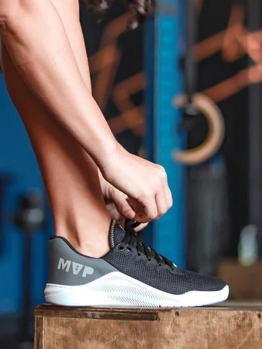 MVP Fitness Cross Training Shoes- Black Lead