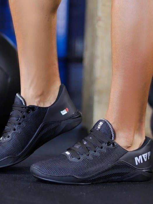 MVP Fitness Cross Training Shoes- Black