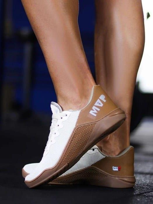 MVP Fitness Cross Training Shoes- Cream Almond