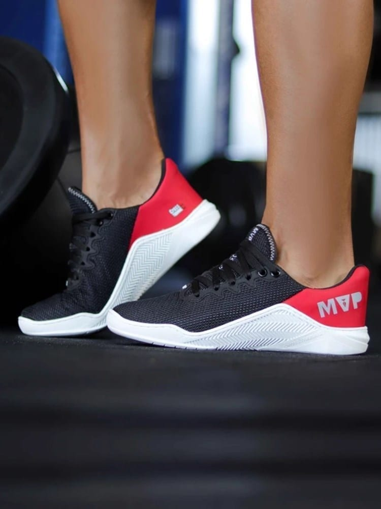 MVP Fitness Cross Training Shoes- Black Red