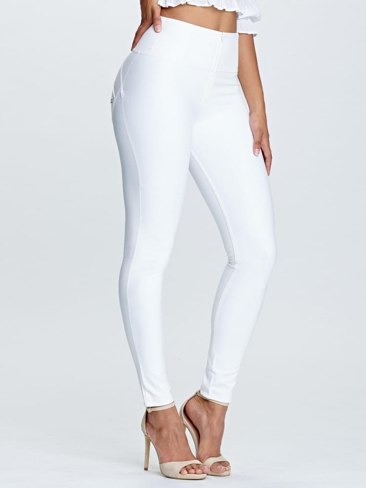 Freddy WR.UP Faux high-rise full length- White