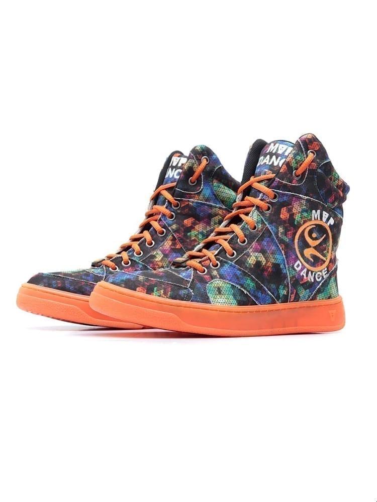 MVP Fitness Dance Fit Sneakers - Neon Orange