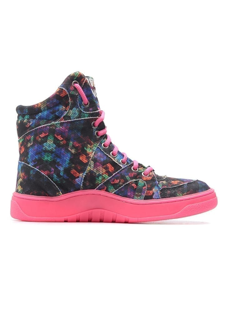 MVP Fitness Dance Fit Sneakers - Neon Pink