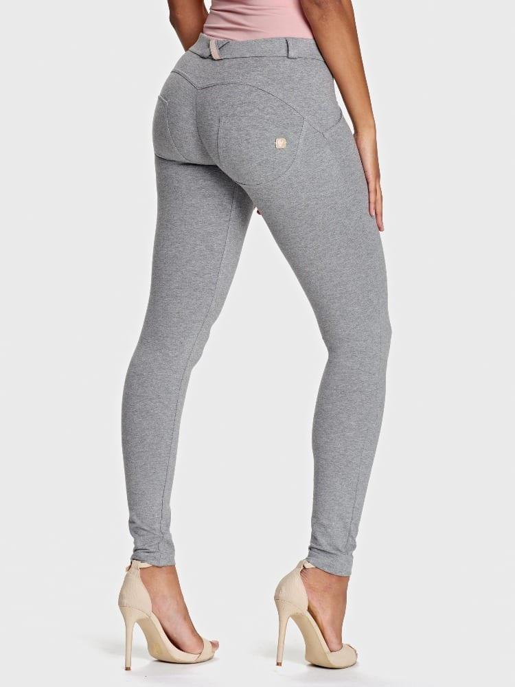 Freddy WR.UP® Fashion-Mid Rise - Super Skinny Full Length - Melange Grey