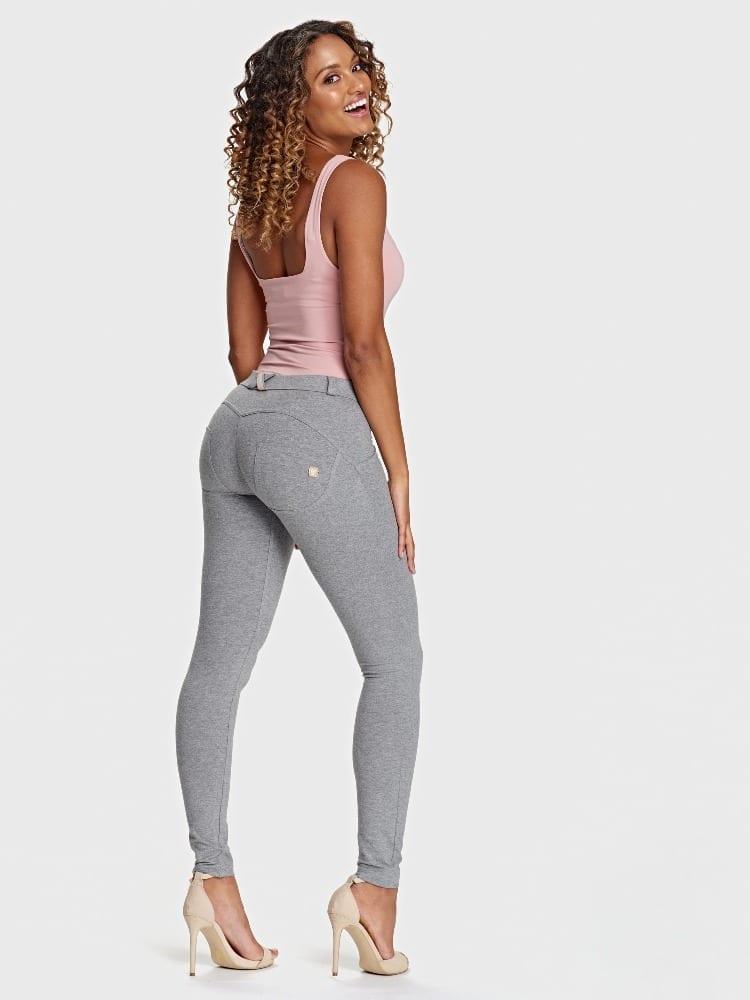 Freddy WR.UP® Fashion-Mid Rise - Super Skinny - Melange Grey