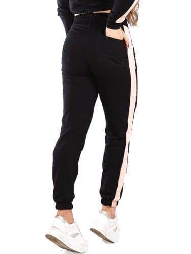 Let's Gym Jogger Fleece Stay Home sweat pants - Black
