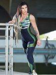 Dynamite Brazil Jumpsuit - Maskuar - Camo/Black Green