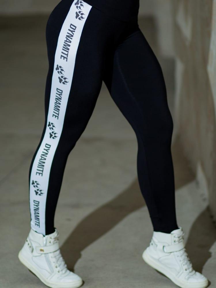 DYNAMITE BRAZIL Leggings Abby - Black/White