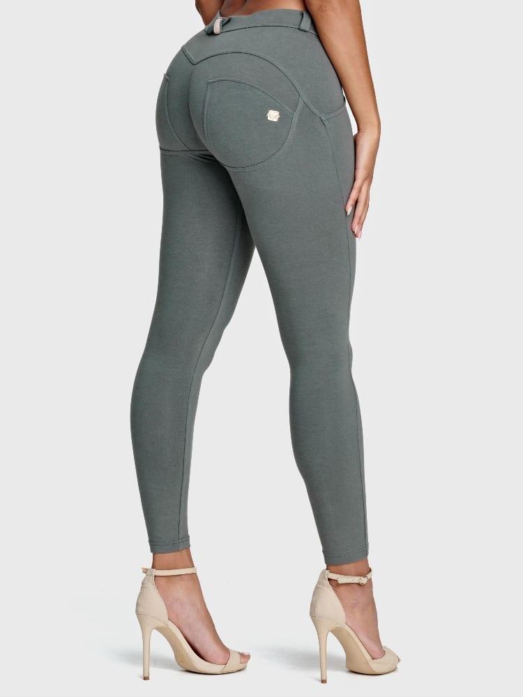 Freddy WR.UP® Fashion-Mid Rise - 7/8 Length - Grey