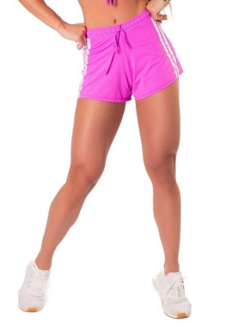 Let's Gym Fitness New Trip Summer Love Shorts – pink