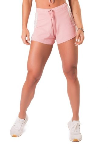 Let's Gym Fitness New Trip Summer Love Shorts – Rose