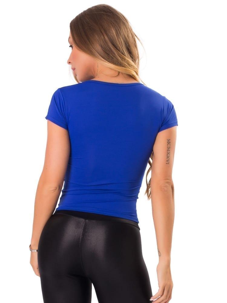 Let's Gym Fitness Blousa New Trip Drop Top - Blue