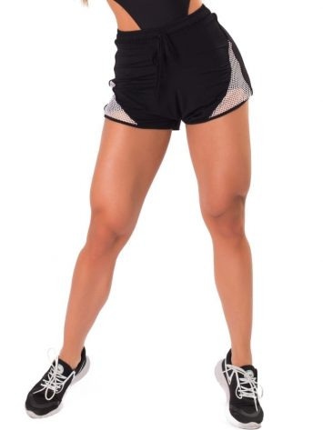 Let's Gym Fitness New Trip Fierce Shorts – Black