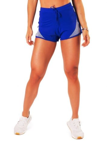 Let's Gym Fitness New Trip Fierce Shorts – Blue