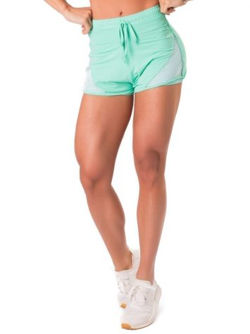 Let's Gym Fitness New Trip Fierce Shorts – Turquoise