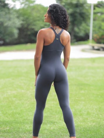 Dynamite Brazil Jumpsuit Macacao Wittney – Graphite