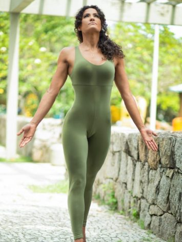 Dynamite Brazil Jumpsuit Macacao Wittney – Green
