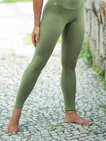 Dynamite Brazil High Waist Fitness Massey Legging – Green