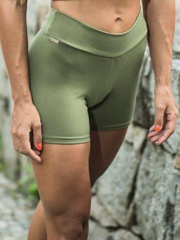 DYNAMITE BRAZIL Shorts Surat – Green Moss