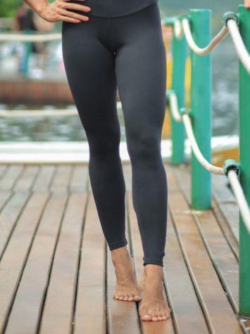 ynamite Brazil High Waist Fitness Massey Legging – Black