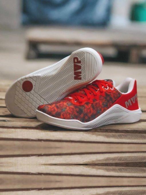 MVP Fitness Cross Training Shoes- Red Rose