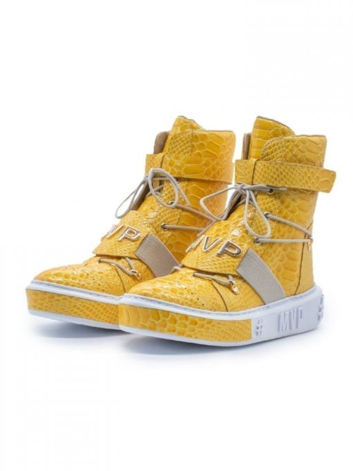 MVP Fitness Tennis Limited Edition Sneakers - Yellow Snake