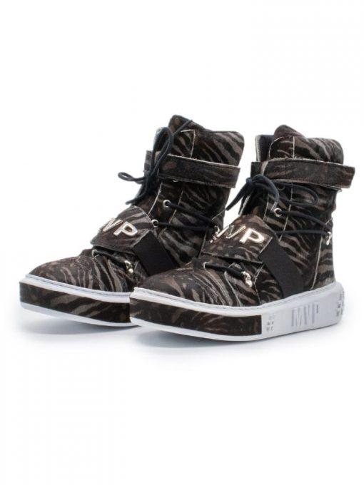 MVP Fitness Tennis Limited Edition Sneakers - Black Jaguar