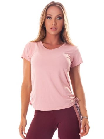 Let's Gym Fitness Blousa Soft Dry Top – Rose