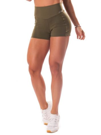 Let's Gym Fitness Energetic Shorts – Military Green