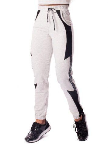 Let's Gym Fitness Calca Jogger Fashion Sport Sweat Pants – Light Melange