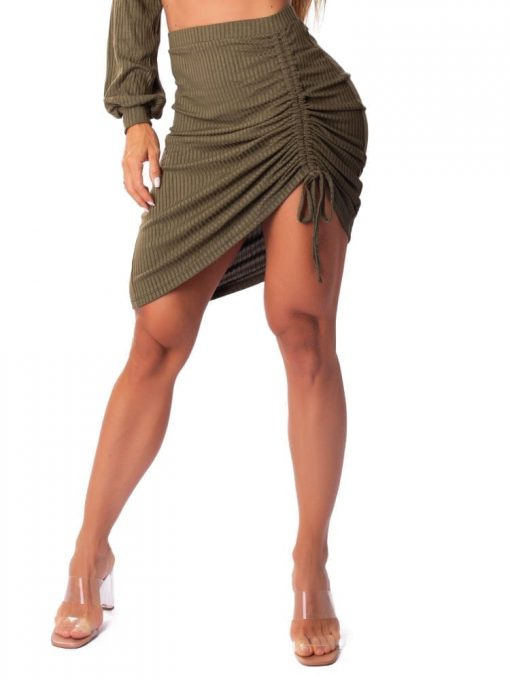 Let's Gym Fitness Saia Canelada Lux and Power - Military Green