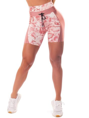 Let's Gym Fitness Short Fierce Shorts – Rose