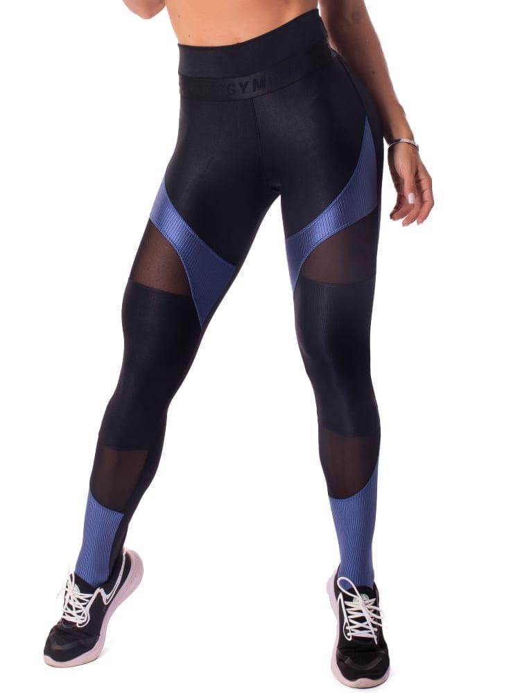 Let's Gym Fitness New Wonders Leggings - Black