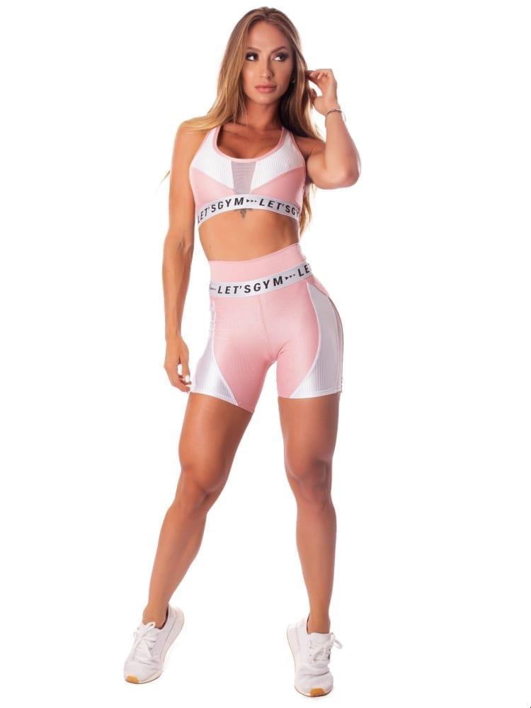 Let's Gym Fitness Short New Wonders Shorts - Rose