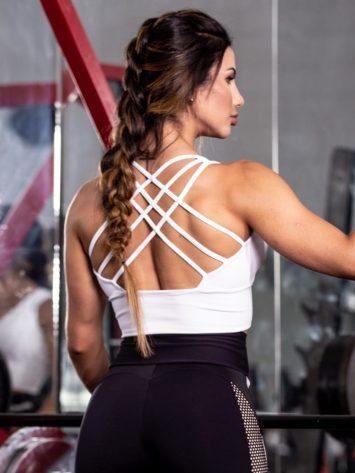Oxyfit Sports Bra Top Charming – White