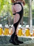 DYNAMITE Brazil Leggings Apple Booty Katzen- Golden Leopard