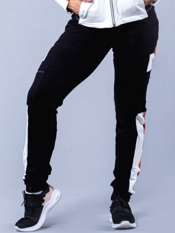 Oxyfit Activewear Leggings Hardy Sweats – Black/Rust/White
