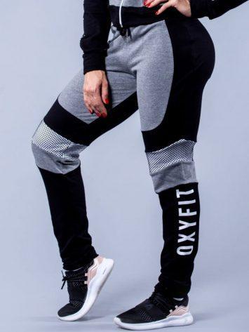 Oxyfit Activewear Leggings Sports Sweats – Black/Grey/White
