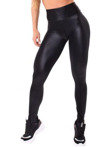Let's Gym Fitness Shape & Glow Leggings – Black