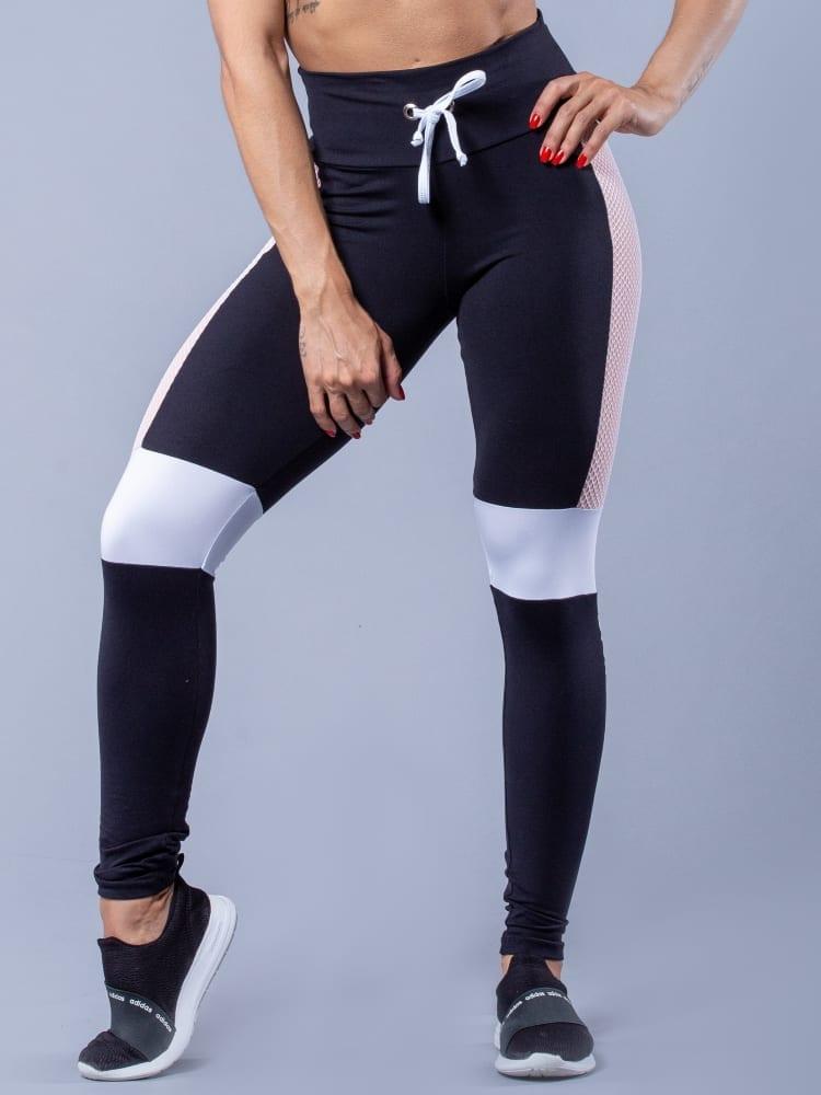 Oxyfit Activewear Leggings Glam - Black/Nude/White
