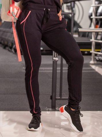 Oxyfit Activewear Leggings Smooth – Black/Pink