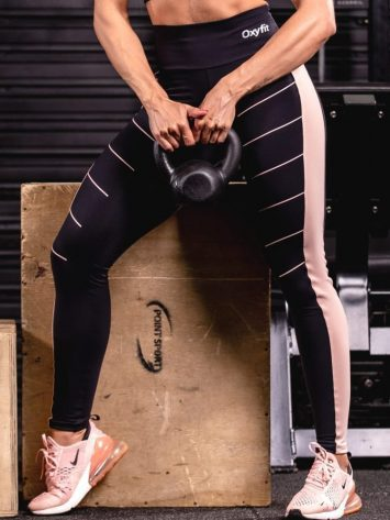 Oxyfit Activewear Leggings Trait – Black/Nude