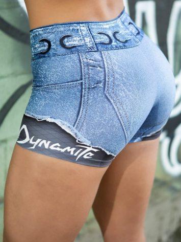 DYNAMITE BRAZIL Placebo Larimar Shorts - Denim